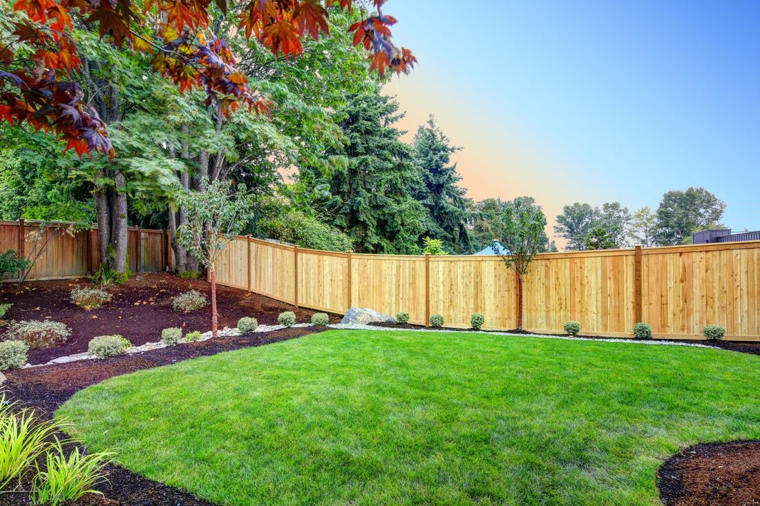 Wood privacy fence in Cobb County GA